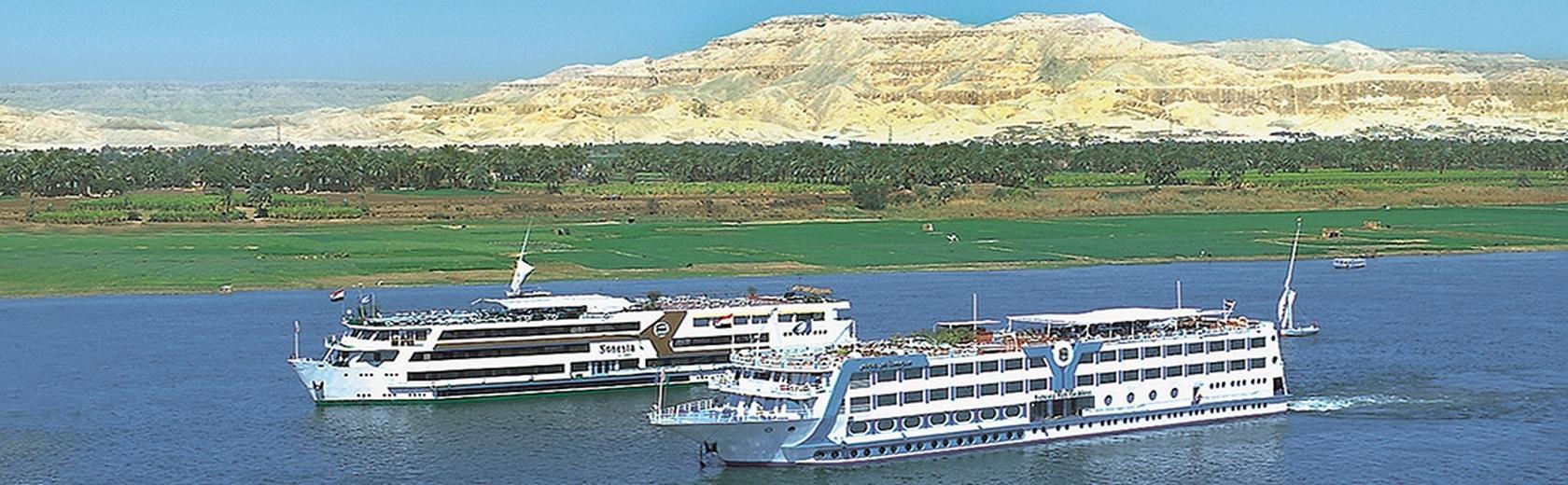 Nilfahrt bei Cleopatra Travel